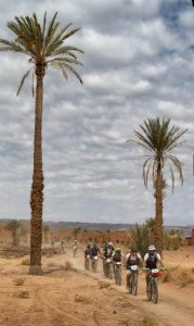 Equipo DAN en carrera Titan Desert 2018