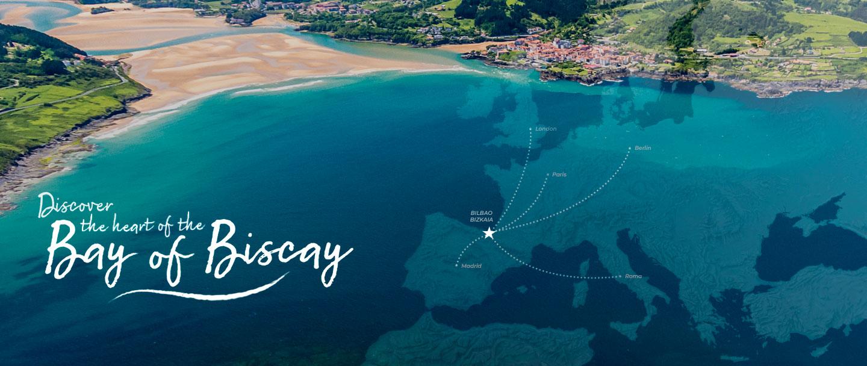 Home de la página web de visit Biscay