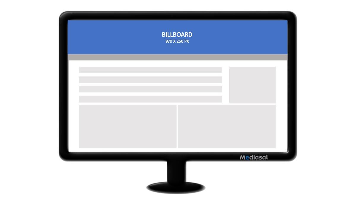 Imagen descriptiva formato display billboard.